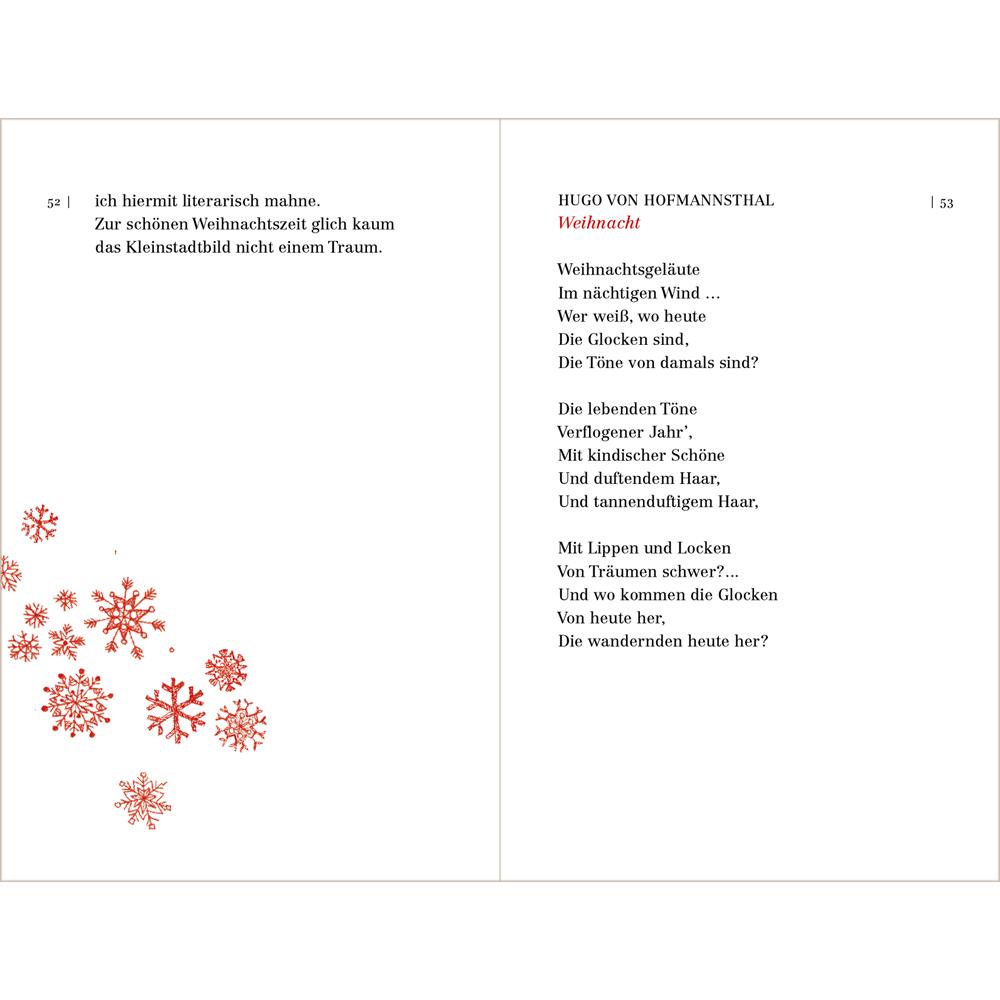 Buch Von Drauß Vom Walde Die Schönsten Weihnachtsgedichte